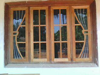 Window Design With Wood