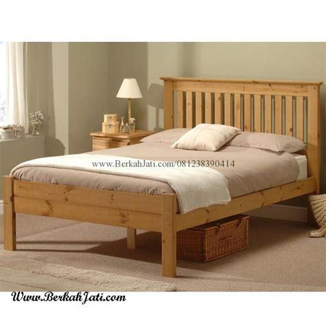 Ranjang Murah ranjang kayu minimalis jari jari murah berkah jati furniture berkah jati furniture