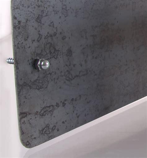 foto magnetwand set rohstahl pinnwand schmal mit 2 magnetischen daumen in
