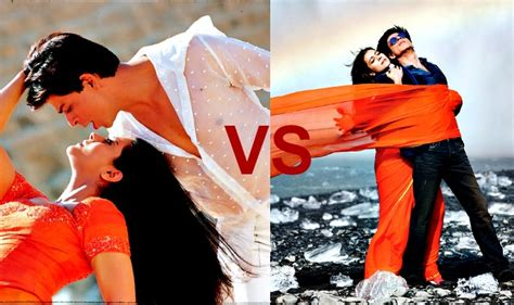 film india gerua can you spot the difference between dilwale gerua and