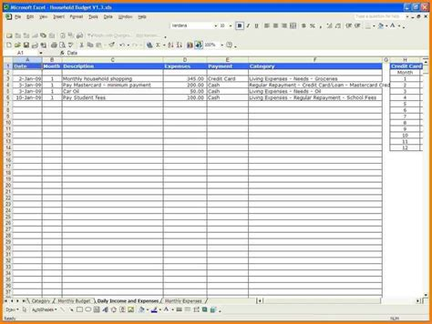 Monthly Expense Spreadsheet Template Expense Spreadsheet Spreadsheet Templates For Business Monthly Budget Planner Template
