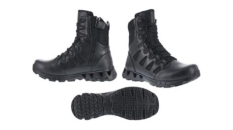 reebok introduces zigkick tactical boots for leos
