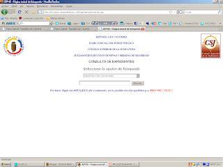consulta procesos judiciales por cedula autos weblog consulta de prosesos judiciales por numero de cedula