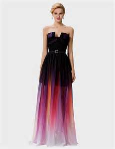 ombre prom dresses naf dresses
