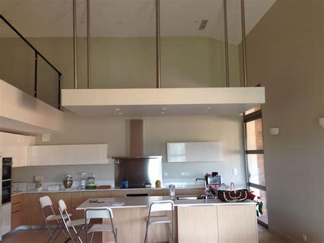 Plafond Moderne Design by Faux Plafond Sur Mesure Moderne Design En Casquette Avec