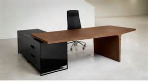 Simple Office Desk Fabulous Simple And Unique Office Desk And Cabinet Combined Wood And Black Stainless Also