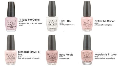Opi Nail Colors   Elevage Events