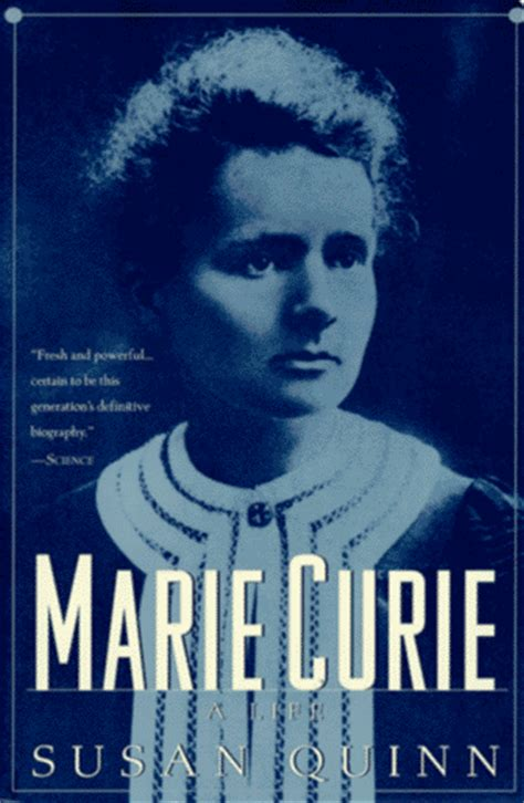 madam query biography in english marie curie a life by susan quinn