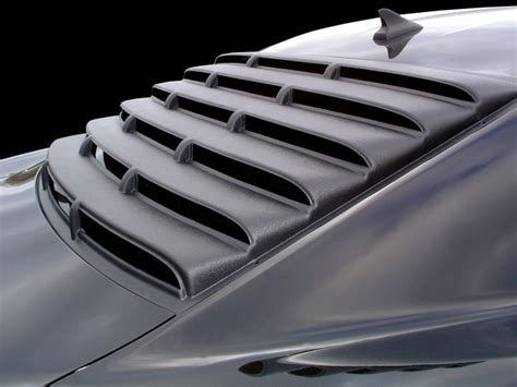 2010 camaro rear window louvers willpak rear window louver textured abs plastic