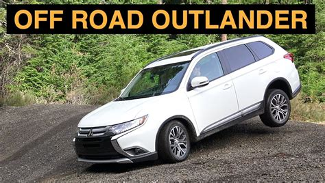 mitsubishi outlander off road 2016 mitsubishi outlander s awc review offroad