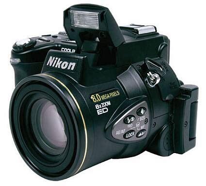 nikon coolpix 8700 полупрофессиональная камера на 8 мегапикселей thg ru