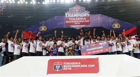 assalwa juara 1 di nh 2015 profil klub torabika sc 2016 arema cronus indonesia
