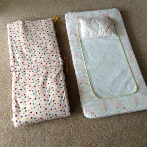 Cot Changing Mat by Mamas And Papas Changing Mat And Cot Bumper For Sale In