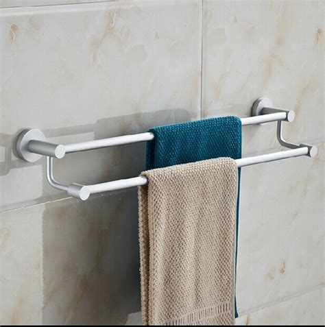 bathroom towel bars and accessories aliexpress com buy bathroom accessories double towel bar