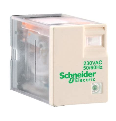 Schneider Relay In Rxm4ab2bd rxze2s114m schneider electric relay socket for use with