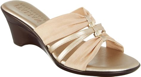 italian shoemakers womens wedge sandals ebay
