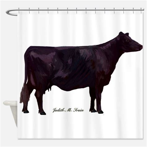 black beef curtains angus shower curtains angus fabric shower curtain liner