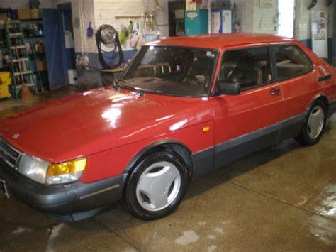 1990 saab 900 turbo 5 speed manual transmission 2door hatchback classic saab 900 1990 for sale