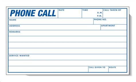 record of telephone conversation template phone call record book degree day systems inc