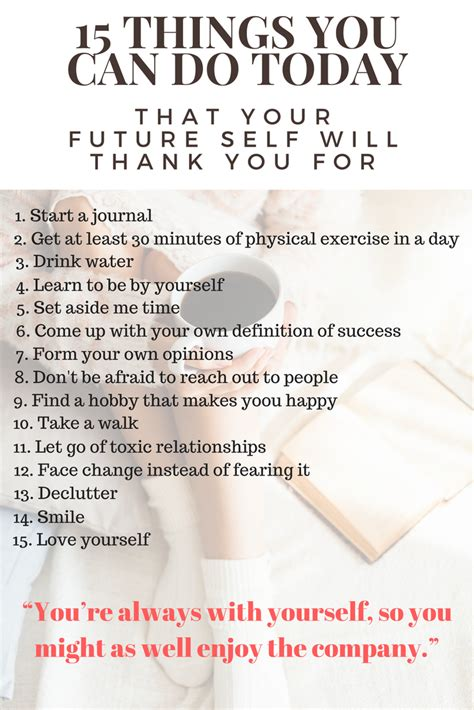 Do I Need To Write A Thank You Letter After A Phone 15 things to do today that your future self will thank you