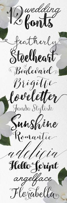 wedding fonts and graphics free skyla design 12 lettered fonts for your creative