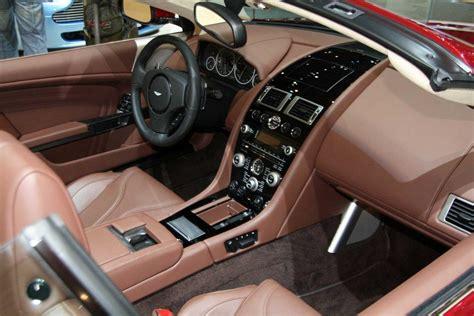 aston martin cars interior aston martin dbs volante live atgeneva motor show interior