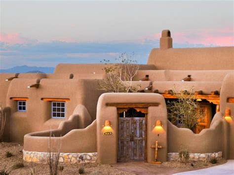 adobe style home adobe homes on santa fe style cob home and southwest decor