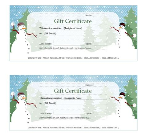 excel gift certificate template gift certificate template gift certificates