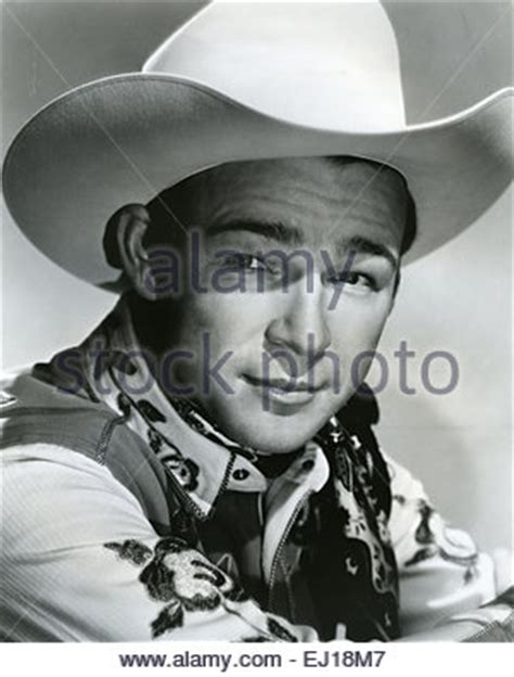 roy rogers 1911 1998 us singer and cowboy actor with his stock photo royalty free