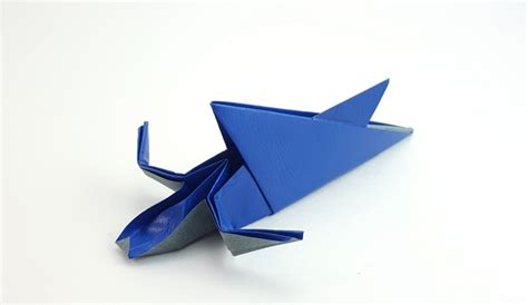 Origami Attack - origami shark attack