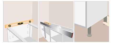 comment poser un plan de travail dans une cuisine ajouter une galerie photo comment poser un plan de travail