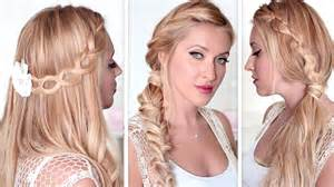 hair styles for a type 2 cute and easy back to school hairstyles lazy last minute