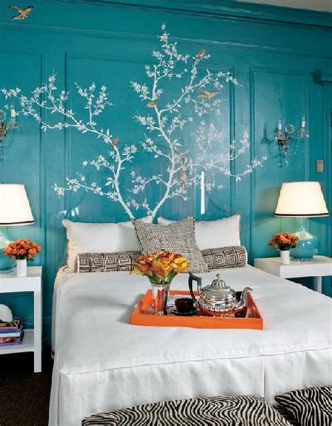 orange turquoise bedroom cool teenager and master bedroom design ideas with