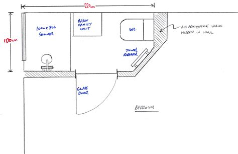 ensuite bathroom floor plans small ensuite plans home design
