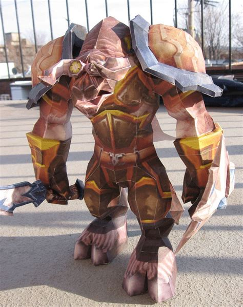 Wow Papercraft - wow world of warcraft papercraft bit rebels