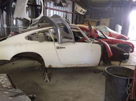 Porsche 911 Restoration For Sale 1969 Porsche 911t Restoration Project Shell For Sale