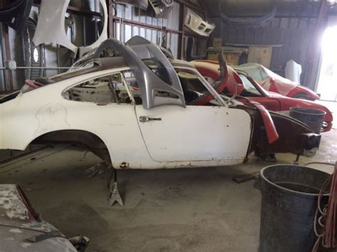 Porsche For Restoration For Sale by 1969 Porsche 911t Restoration Project Shell For Sale
