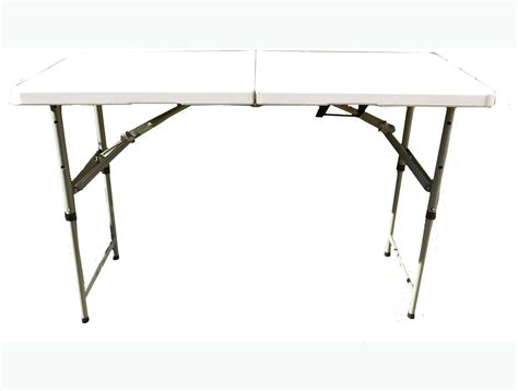 4 ft folding adjustable folding trestle 4ft adjustable leg height 100