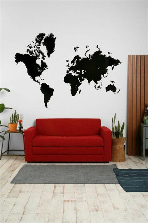 rotes sofa wohnzimmer ideen 44 wandgestaltung ideen wie sie den raum beleben