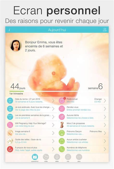 Calendrier De Suivi De Grossesse Grossesse Applications Android Sur Play