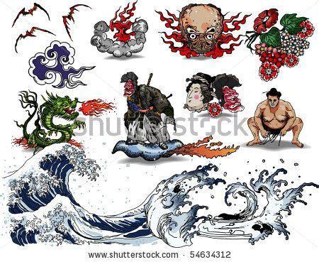 Japanese Tattoo Znaczenie | japanese tattoo design art design oriental pinterest