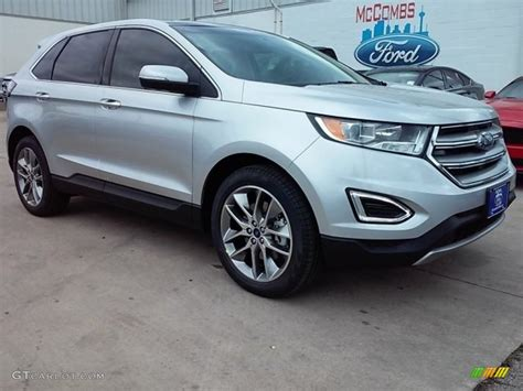 ford car colors 2016 ingot silver ford edge titanium 113687380 gtcarlot