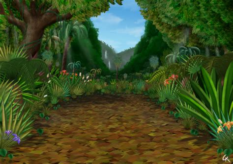 wallpaper 3d jungle jungle by frowg101 on deviantart