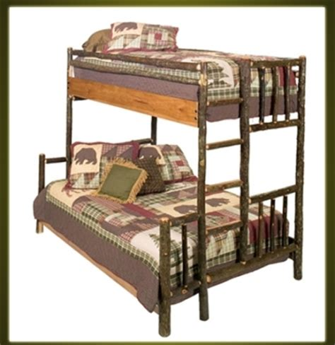Hickory Bunk Beds Brand New Rustic Furniture Hickory Bunk Bed