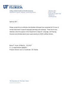 verification letter for obsevation asha