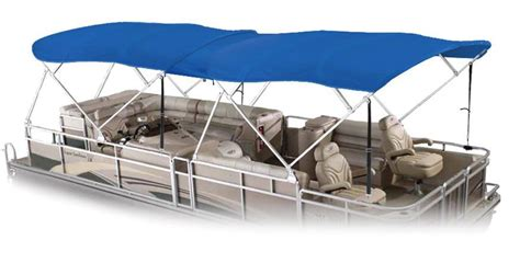 pontoon bimini tops national bimini tops double - How To Install Bimini Top On Pontoon