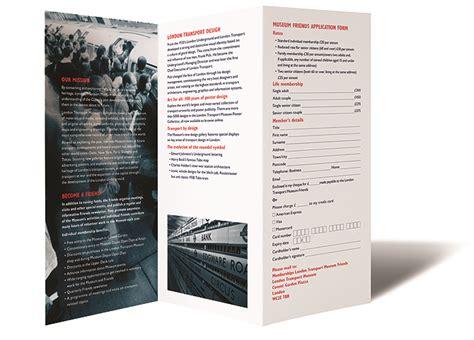 london transport museum brochure james holland