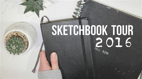 sketchbook tour sketchbook tour 2 2016