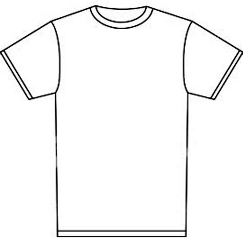 Drawing T Shirt Outline by Blank Tshirt Template Tryprodermagenix Org