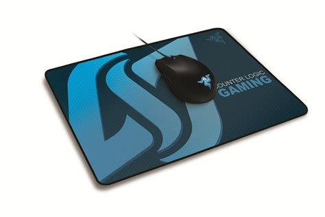 Special Mousepad Gaming Razer razer unveils counter logic gaming endorsed deathadder mouse and goliathus mousepad custom pc